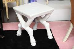 John Dickinson Plaster Table image 2