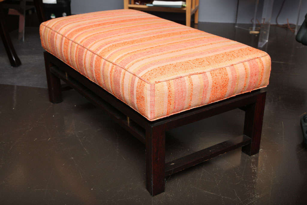 American Mid-Century Bench by Wormley for Dunbar For Sale