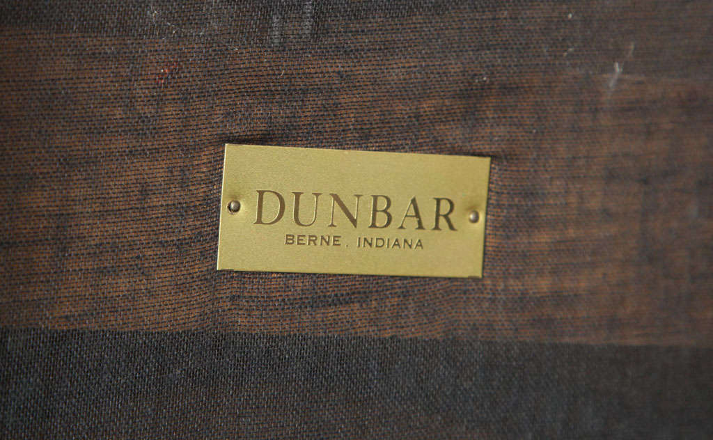 Upholstery Mid-Century Bench by Wormley for Dunbar For Sale