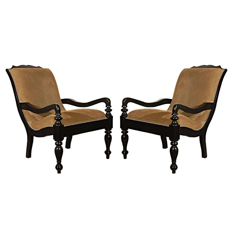 Plantation armchair at 1stdibs