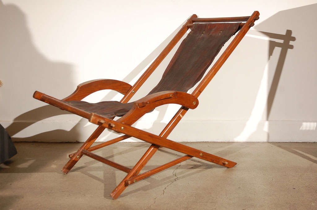 french campaign style folding chairs at 1stdibs