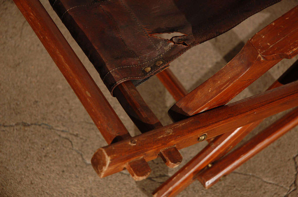 French Campaign Style Folding Chairs 4