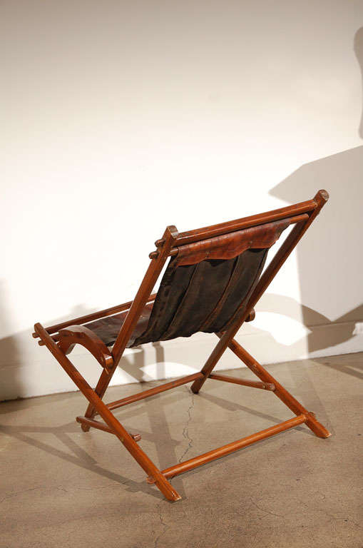 French Campaign Style Folding Chairs 8