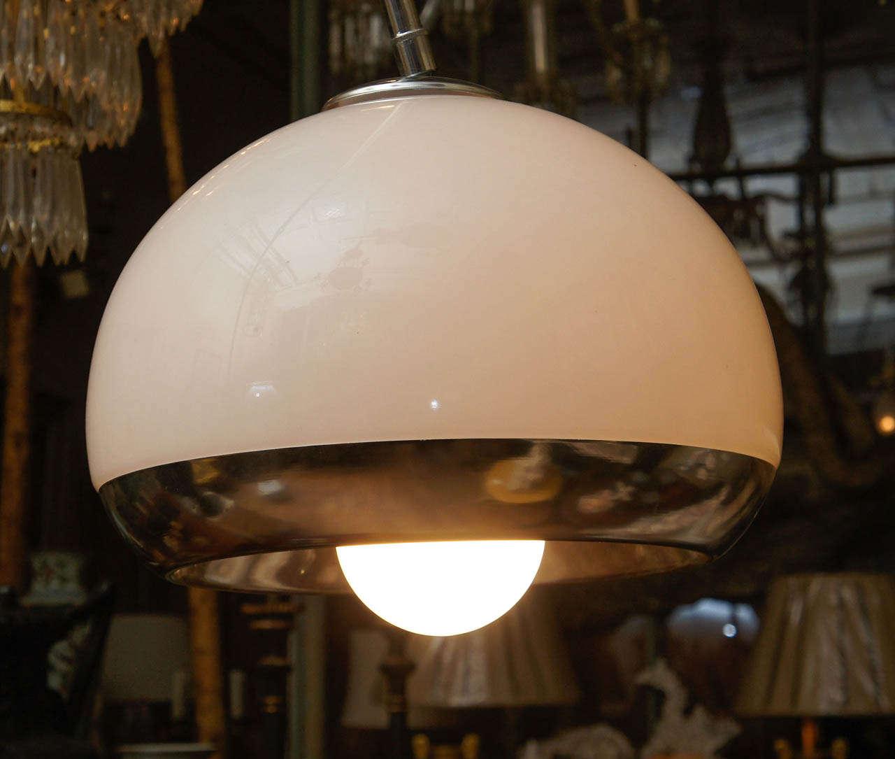 Vintage Harvey Guzzini Arc Floor Lamp At 1stdibs