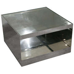 Joe D'urso Stainless Steel Table