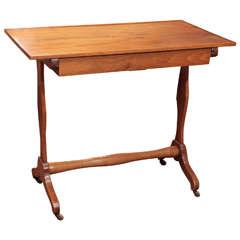 Early 19th Century French Walnut Salon Table