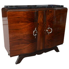 French Art Deco Small Sideboard