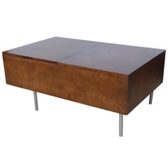 Walnut Blanket Box or Chest by George Nelson, 1960s USA