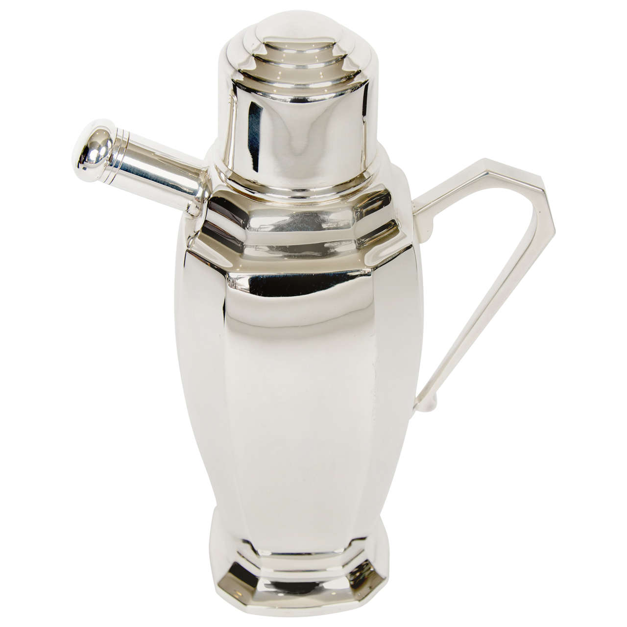 20th Century Silver Plate Cocktail Shaker