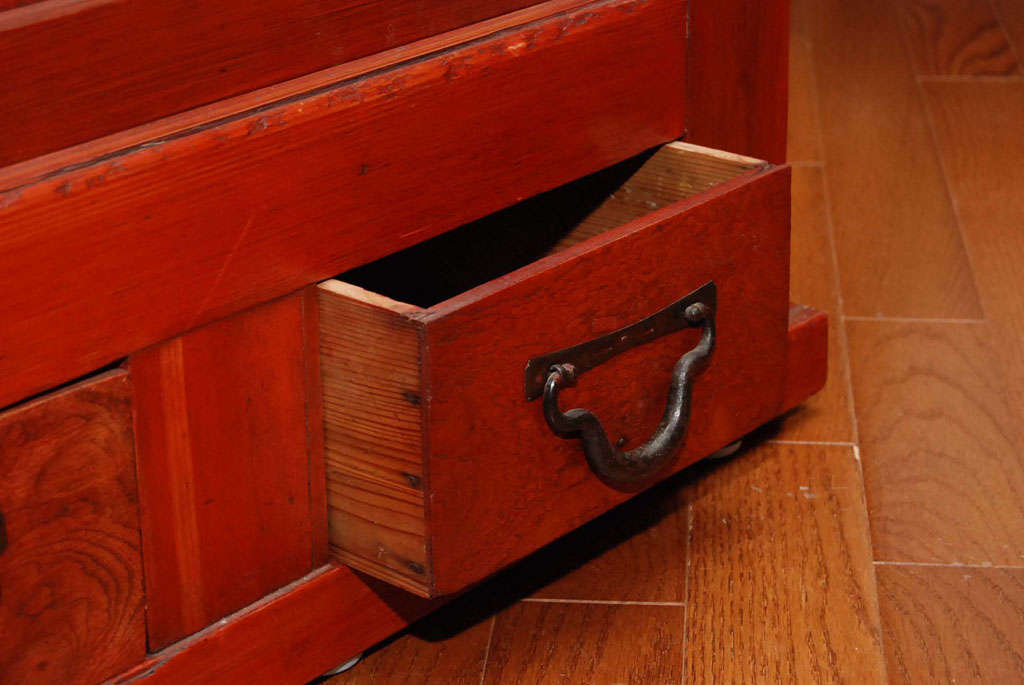 japanese kitchen cabinet for sale at 1stdibs japanese mizuya tansu kitchen cabinet
