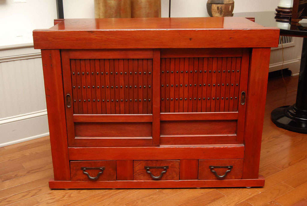 hutch kitchen furniture japanese kitchen cabinet for at 1stdibs 12534