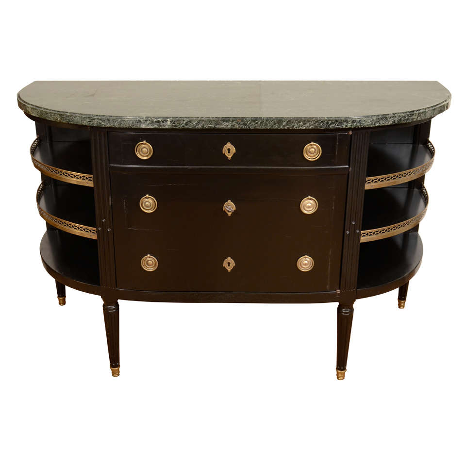 Louis xvi style console commode at 1stdibs - Console commode ...