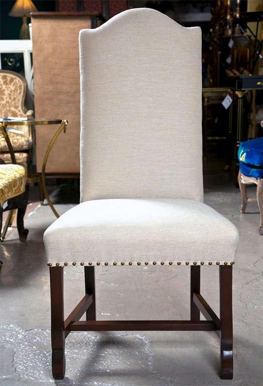 Custom Dining Chairs custom upholstered dining room chairs custom wood and upholstered