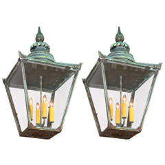 Pair Of 19th c English Lanterns
