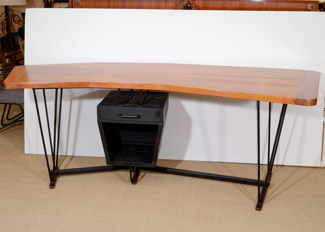 curved architects desk at 1stdibs