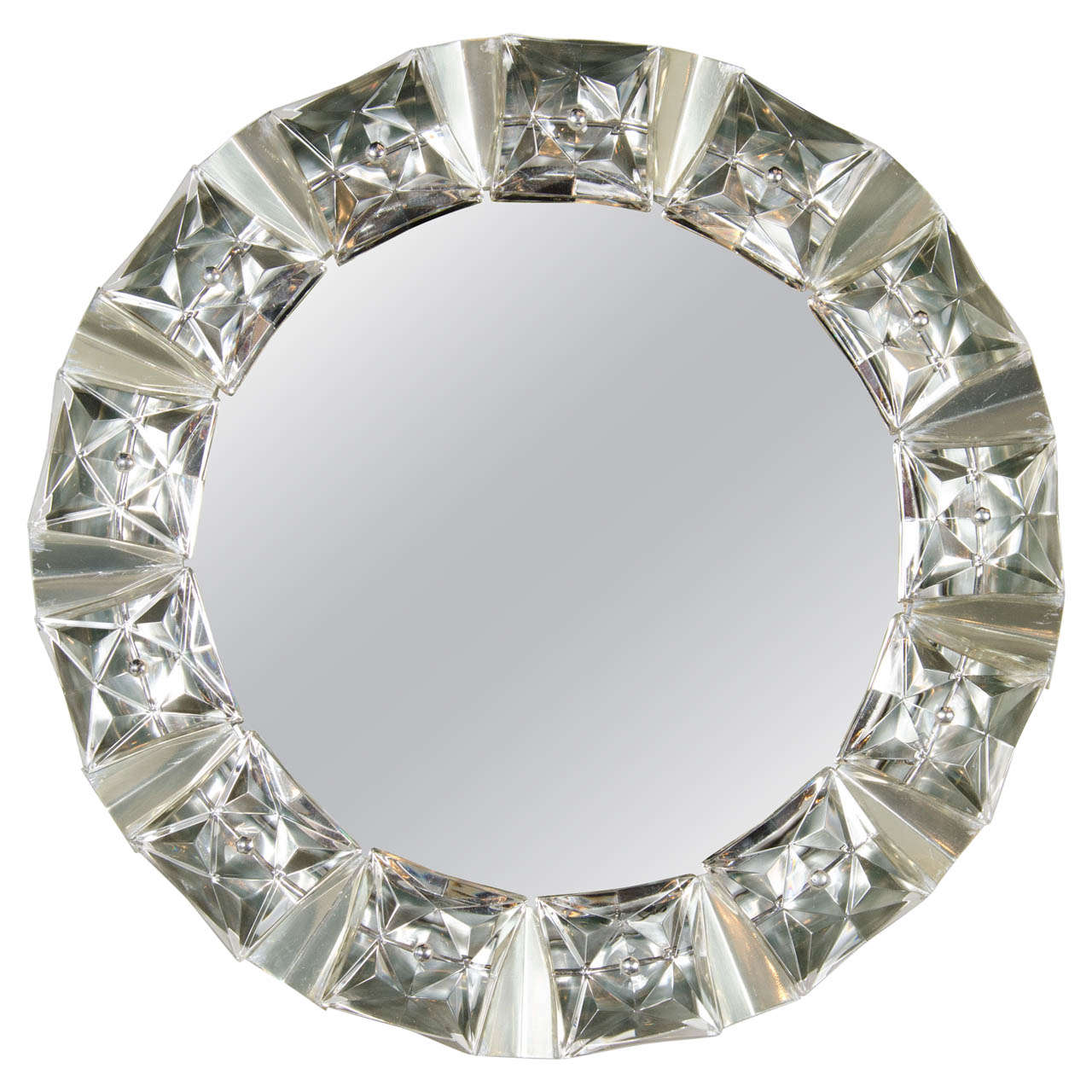 Illuminating mid century inset cut crystal mirror by kalmar at 1stdibs illuminating mid century inset cut crystal mirror by kalmar 1 amipublicfo Image collections