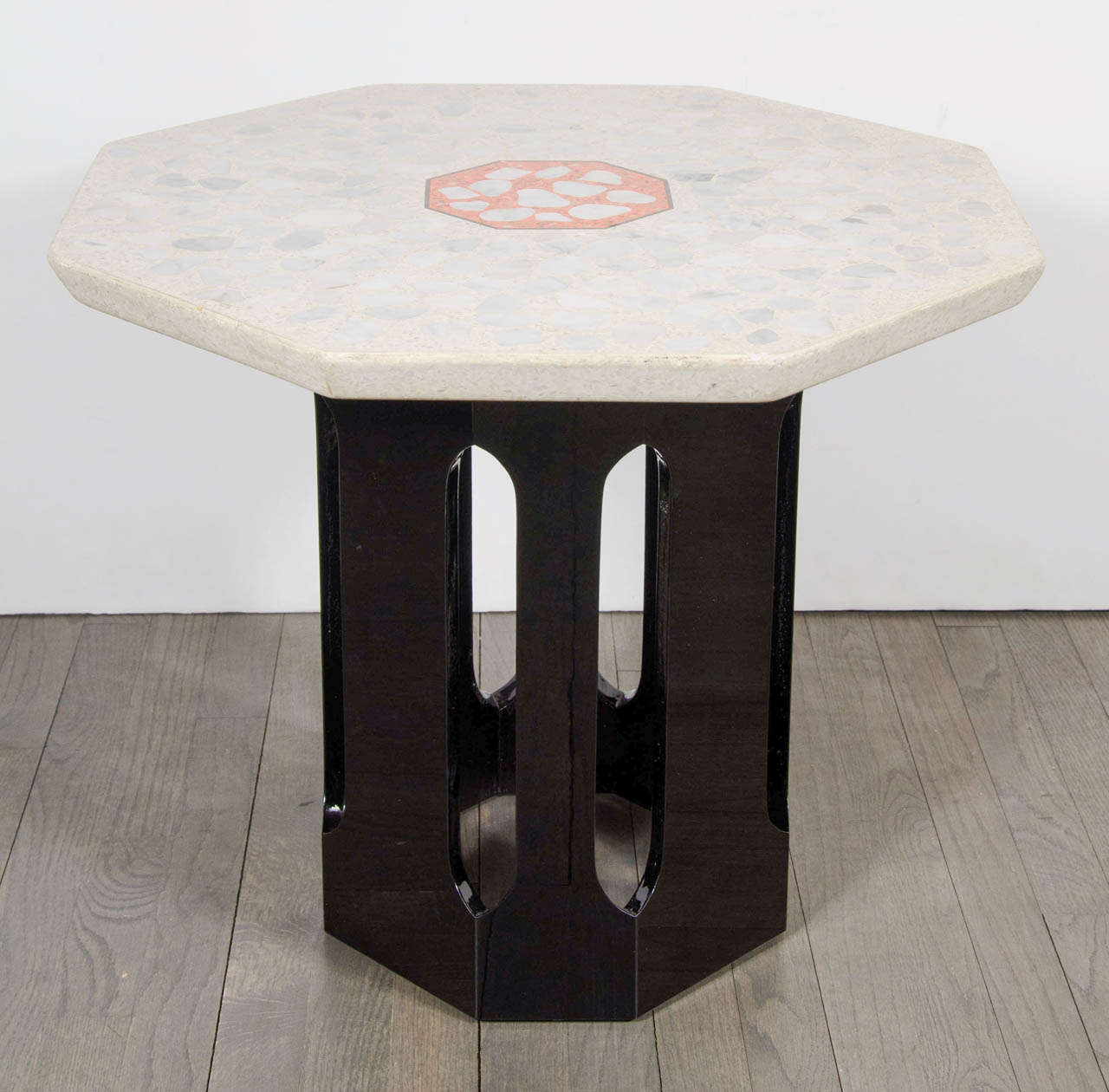 This Rare And Stunning Occasional Table By Harvey Probber  The Legendary  Mid Century Modern Designer