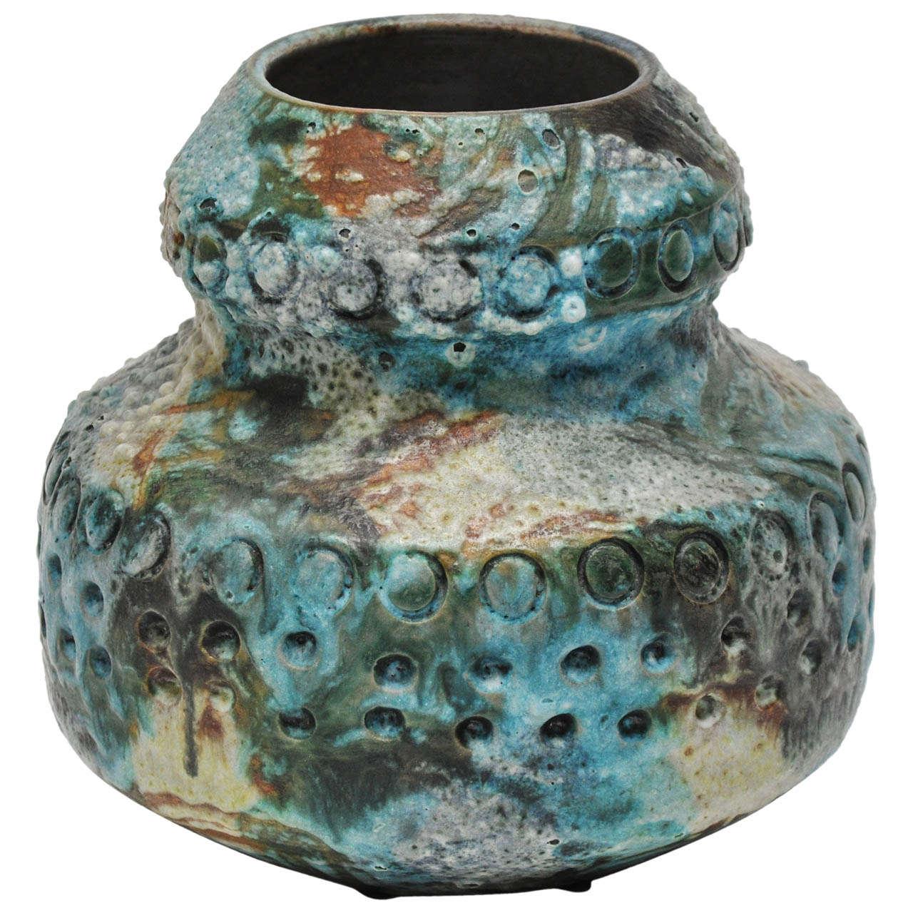 Sea Garden Series Vase By Alvino Bagni For Raymor At 1stdibs