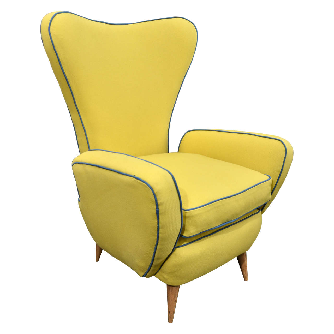 Pair of Paolo Buffa Style Armchairs