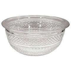 Antique Hand-Cut Irish Crystal Bowl