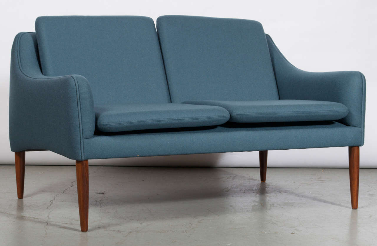 Scandinavian Modern Hans Olsen 2 Seater Sofa For