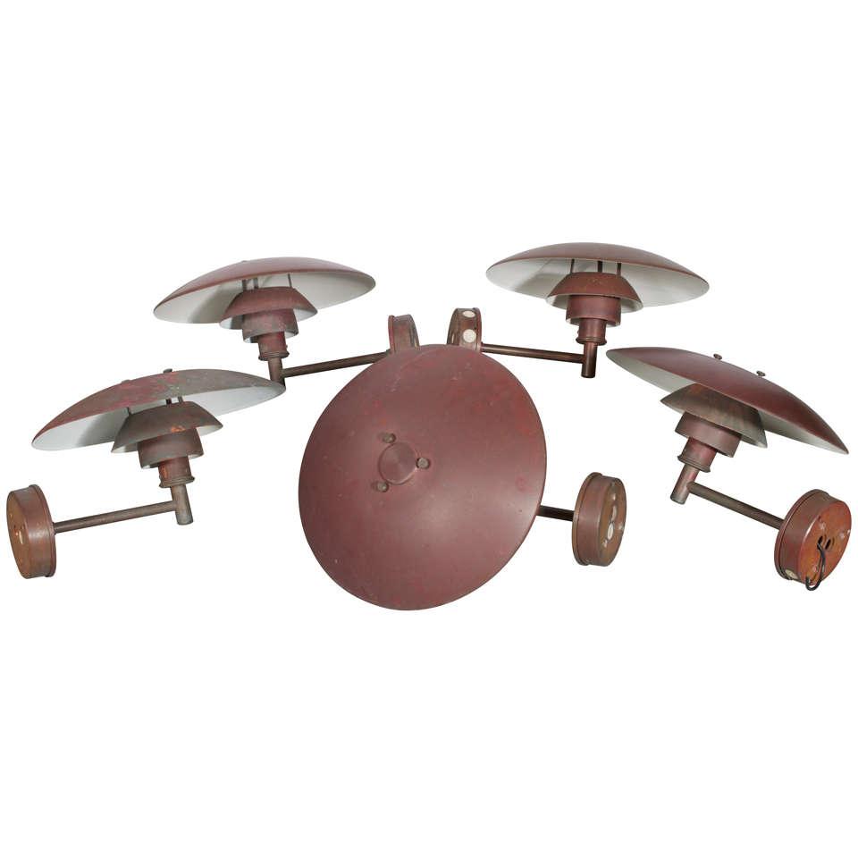 Poul Henningsen Ph 4 5 3 Outdoor Lamp At 1stdibs