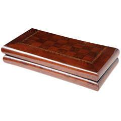 19th Century English Tunbridge Games Box