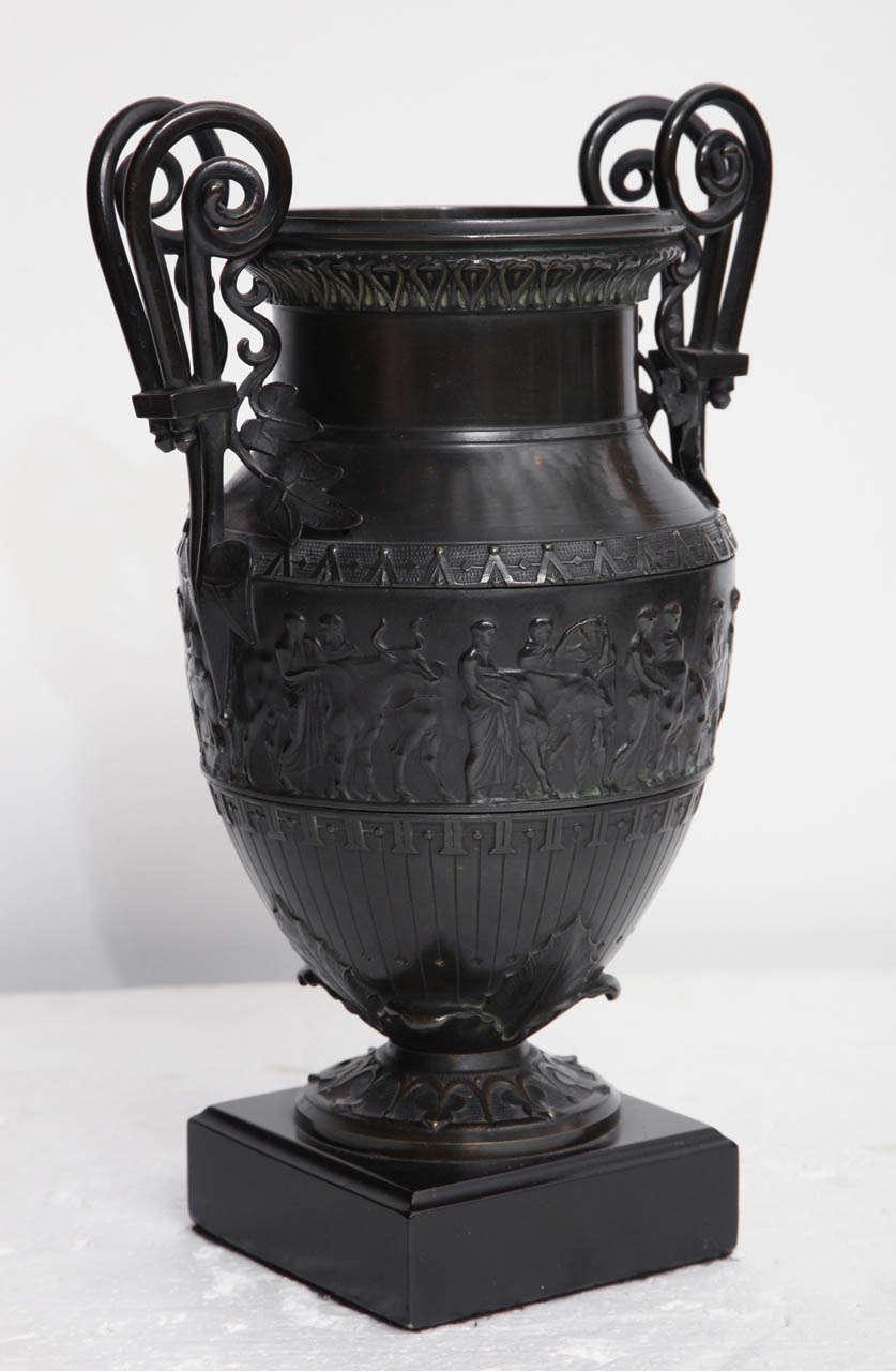 Bronze 19th Century Italian Neo-Classical Urn For Sale