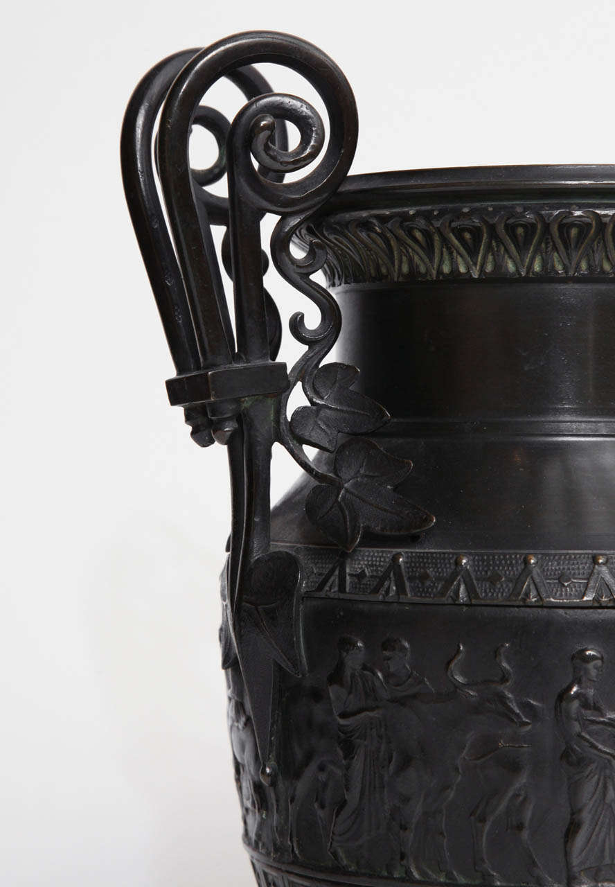 19th Century Italian Neo-Classical Urn For Sale 2
