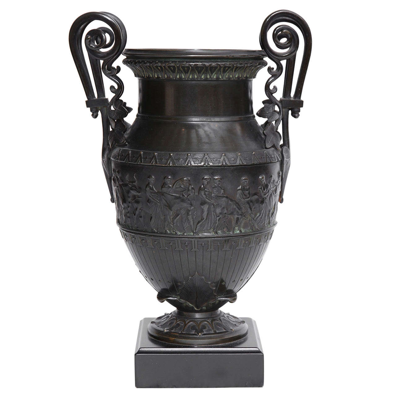 19th Century Italian Neo-Classical Urn For Sale