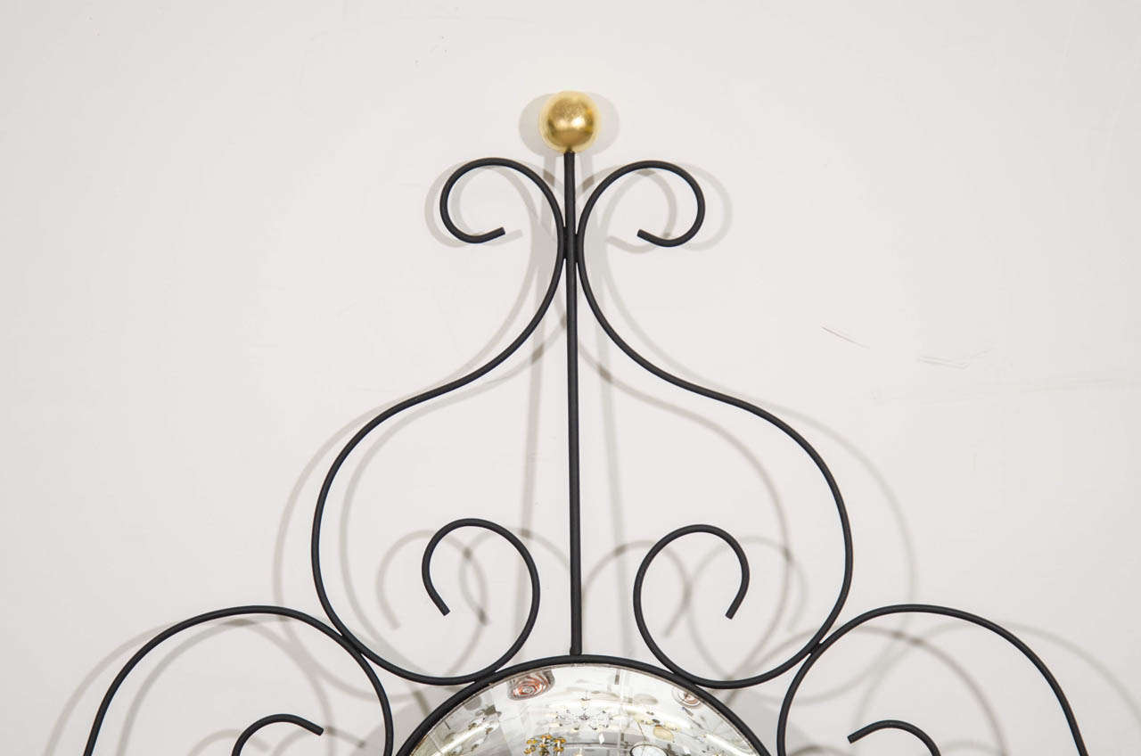 Mid-Century Modern Midcentury French Modern Style Wall Mirror For Sale