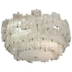 Murano Glass Chandelier by Barovier & Toso
