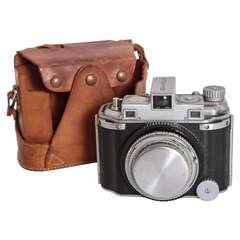 Original Walter Dorwin Teague Kodak Medalist Art Deco Camera with Case