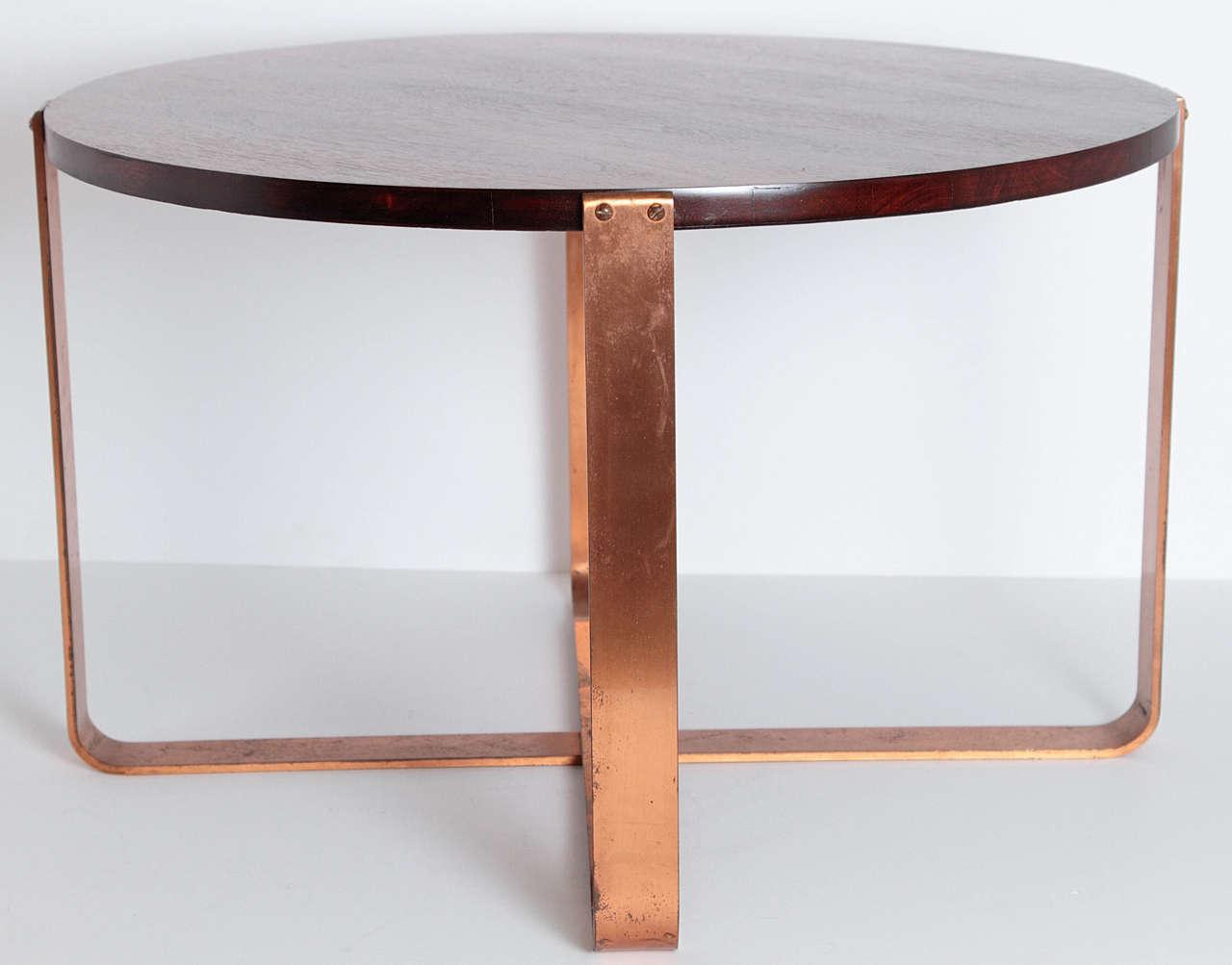 American Art Deco Coffee Table In Good Condition For Sale In Dallas, TX