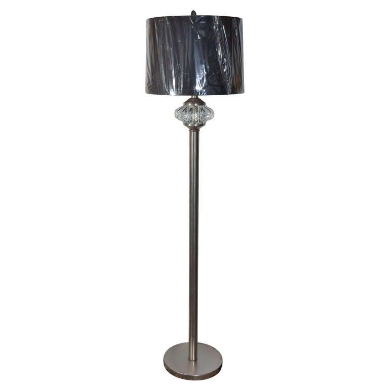 art deco floor lamp at 1stdibs. Black Bedroom Furniture Sets. Home Design Ideas