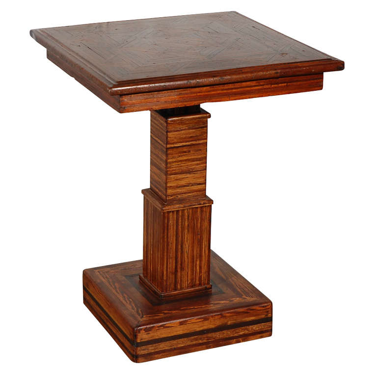American Folk Art Table