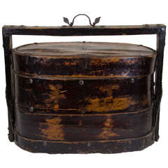 19th Century Stacked Food Box
