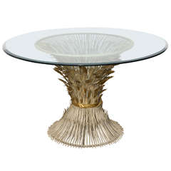 Italian Sheaf of Wheat CenterTable.