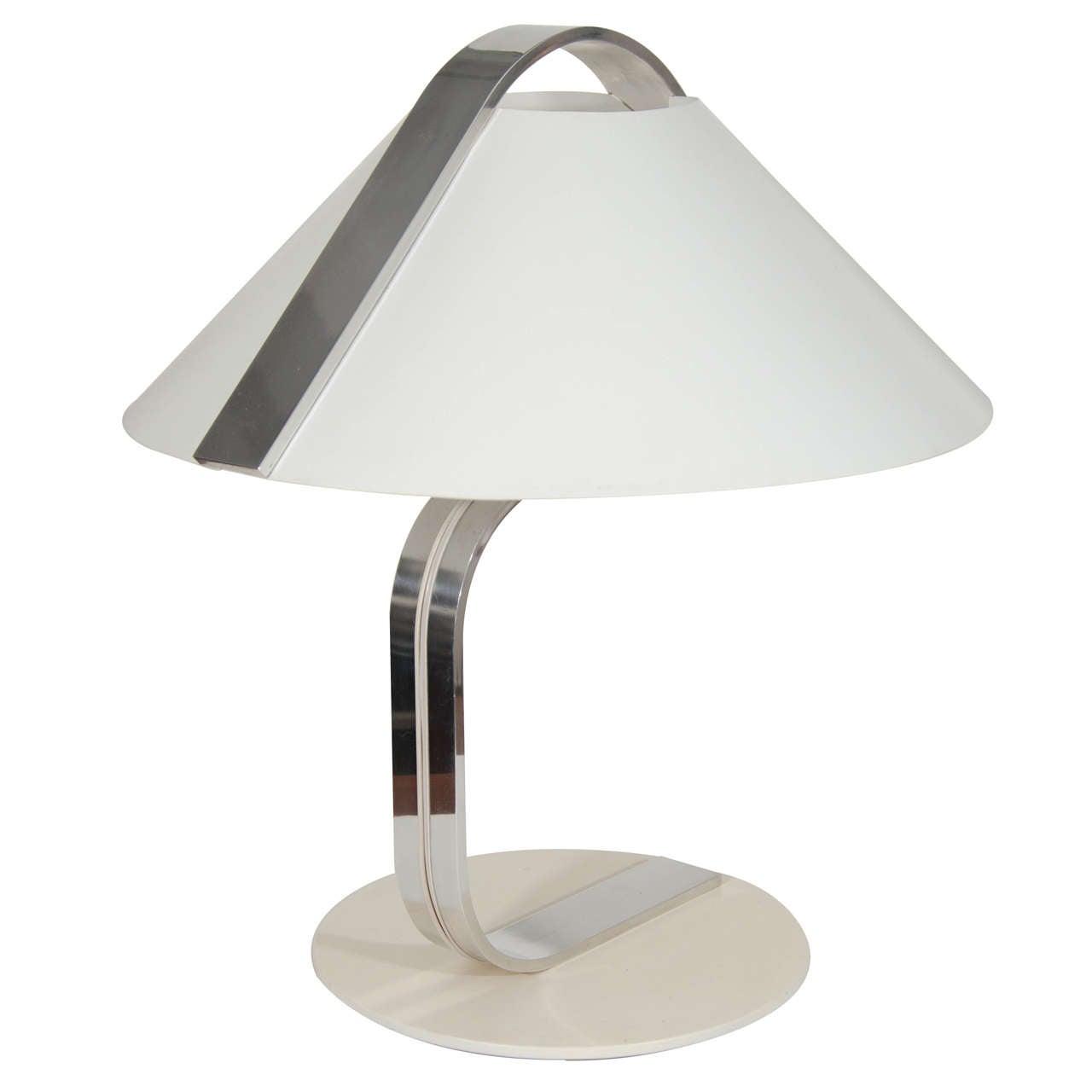 1970s modernist table lamp for sale at 1stdibs. Black Bedroom Furniture Sets. Home Design Ideas