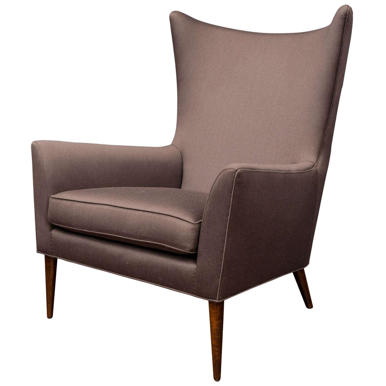 Paul McCobb Wing Chair at 1stdibs