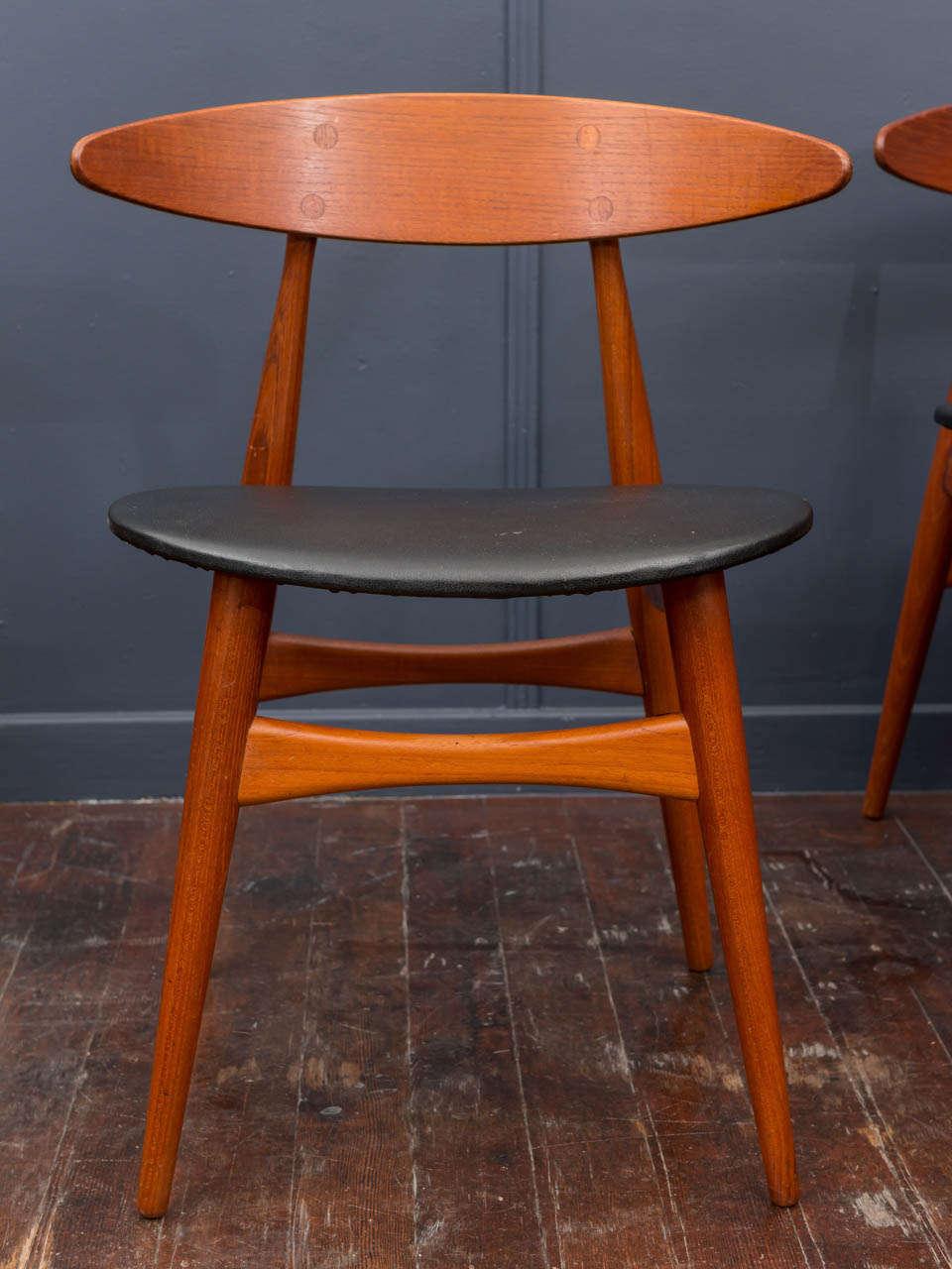 Esszimmerstühle CH33 von Hans Wegner 3