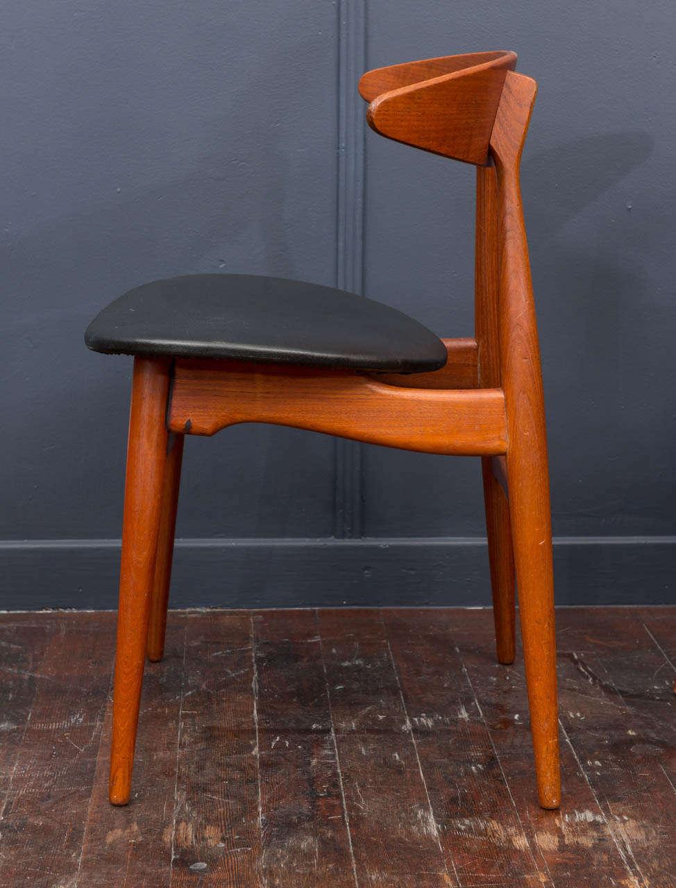 Esszimmerstühle CH33 von Hans Wegner 4