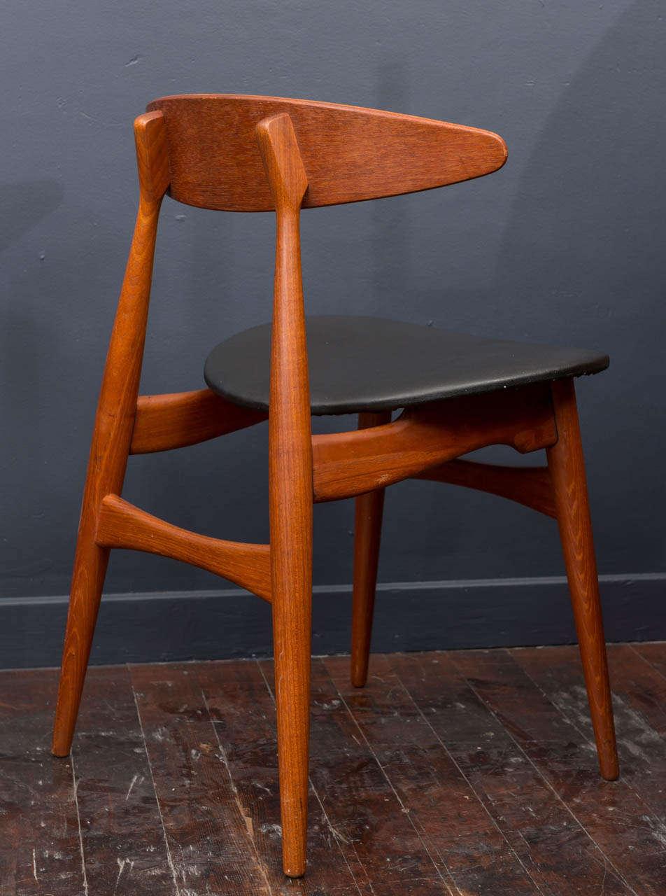 Esszimmerstühle CH33 von Hans Wegner 5