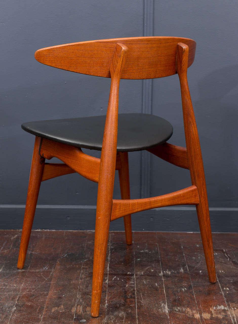 Esszimmerstühle CH33 von Hans Wegner 6