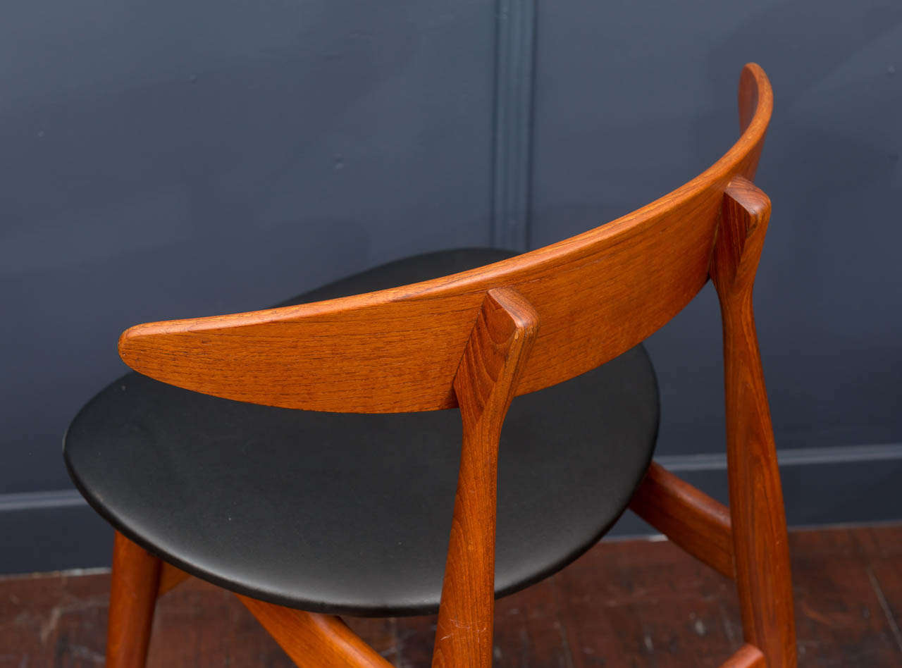 Esszimmerstühle CH33 von Hans Wegner 7