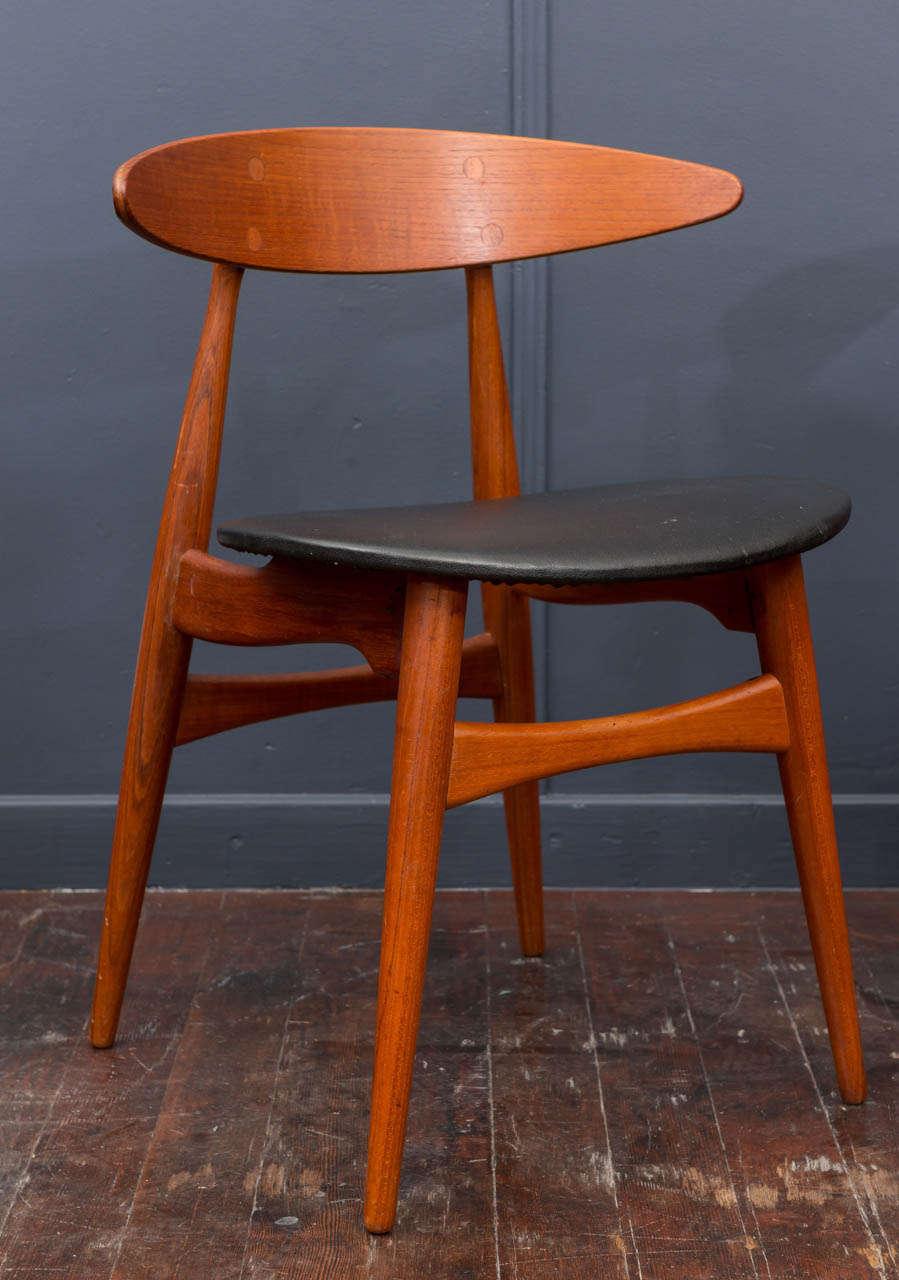 Esszimmerstühle CH33 von Hans Wegner 8