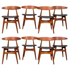 Hans Wegner CH33 Dining Chairs