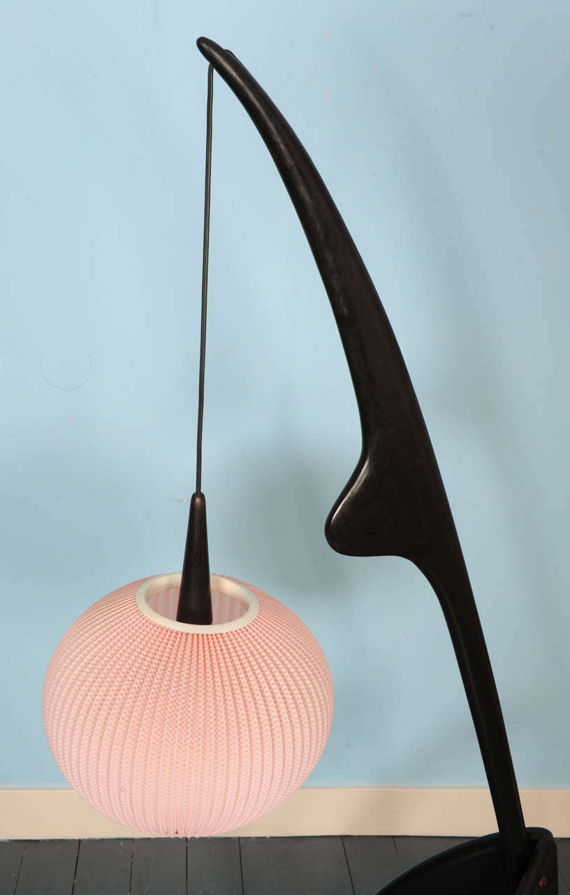 praying mantis floor lamp by rispal at 1stdibs. Black Bedroom Furniture Sets. Home Design Ideas