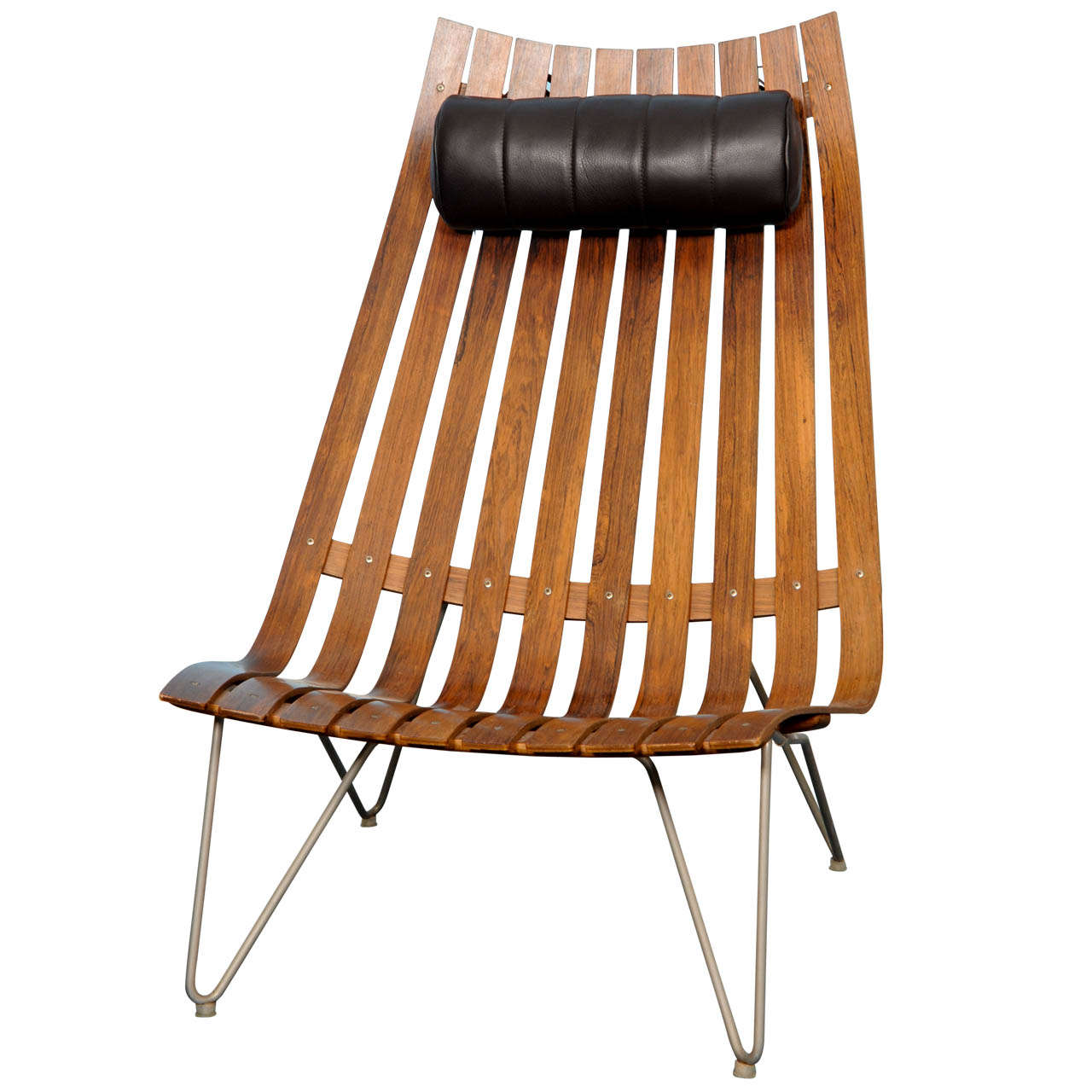 Hans Brattrud Scandia Senior Lounge Chair At 1stdibs