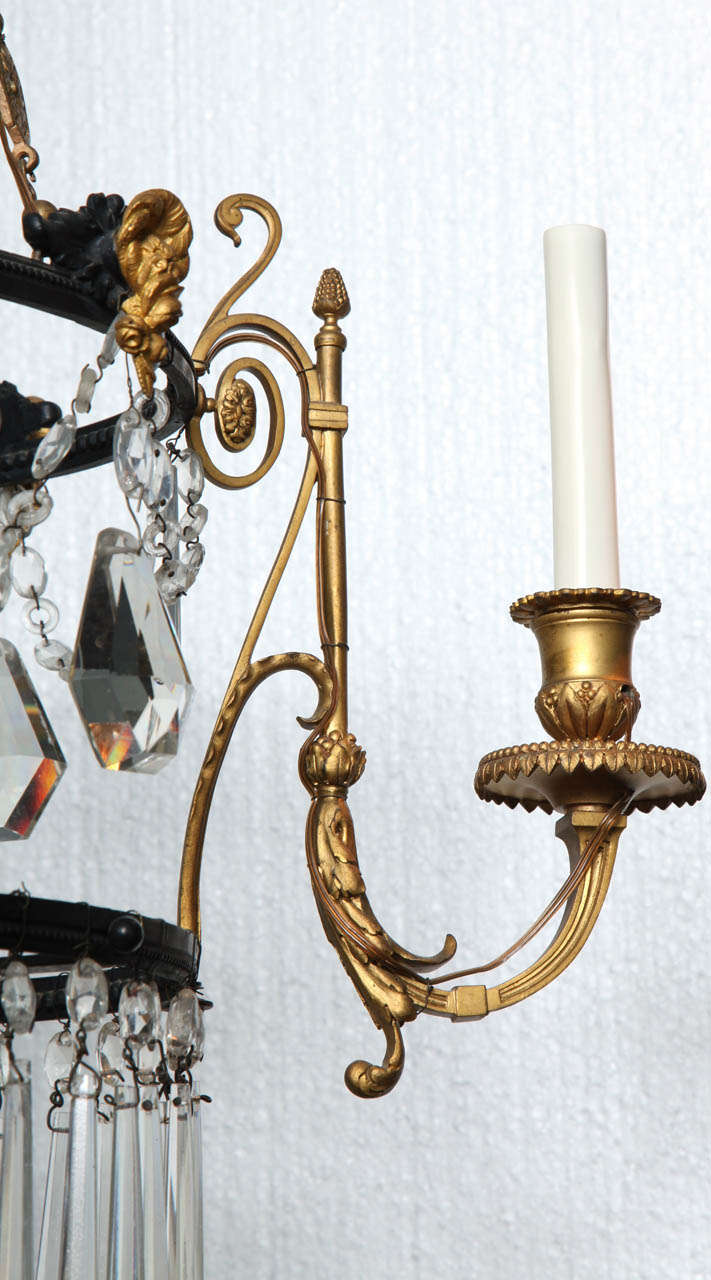 Early 19th Century Neoclassical Chandelier At 1stdibs